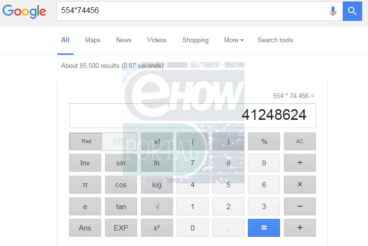 Google Calculator