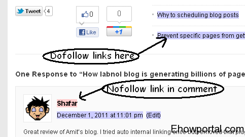 Easy way to find dofollow or nofollow links of any website