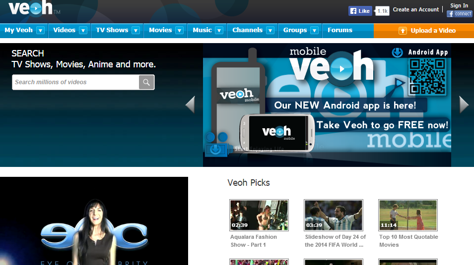watch free streaming movies online using veoh