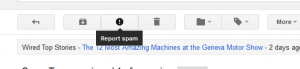 Report Spam on gmail