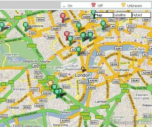 freehotspot finder web service