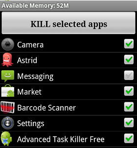 Android Task Killer