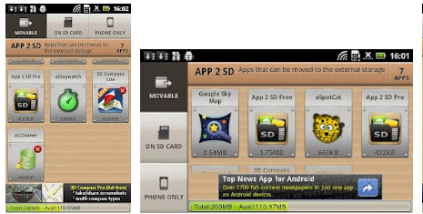 Android App 2 SD (move app to SD)