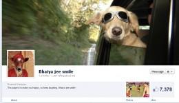 Bhaiya jee smile