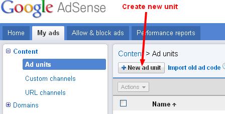 My ads Google AdSense