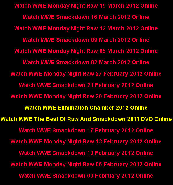 Watch WWE Online for Free