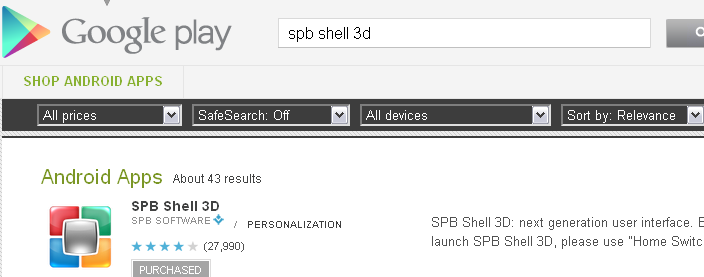 SPB shell 3d on Google Play