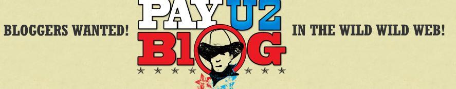 Get Paid To Blog at Payu2blog Blog Advertising