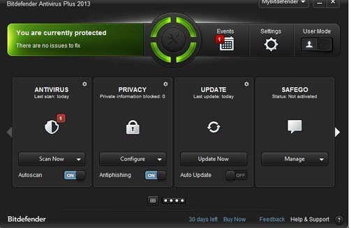 Internet Security Software Bitdefender Australia Internet Security 20131 How To Protect Your PC Against Viruses, ID Theft Attempts & Malware Threats
