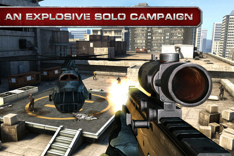 Modern Combat 3 Fallen Nation on iPhone 4s Gameplay Top 5 Must Have iPad3 Apps
