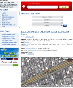 Hdfc Bank Ltd IFSC Code And MICR Code