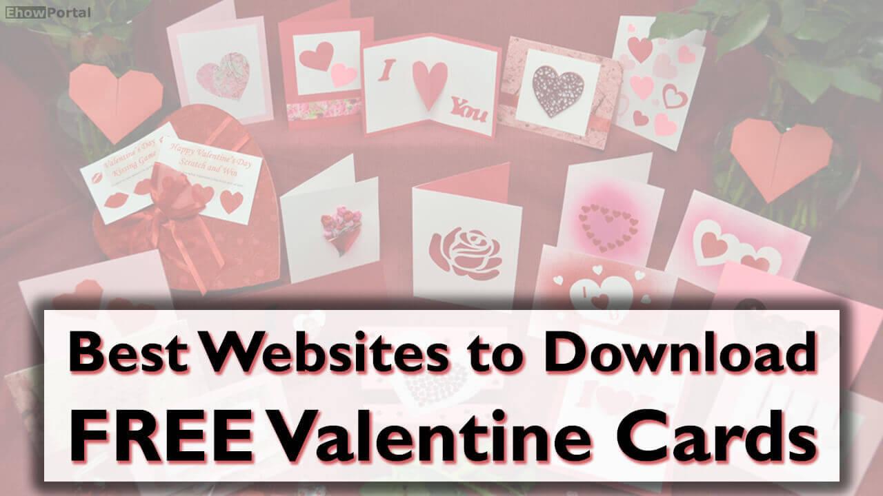 Best Websites to Download FREE Valentine Cards