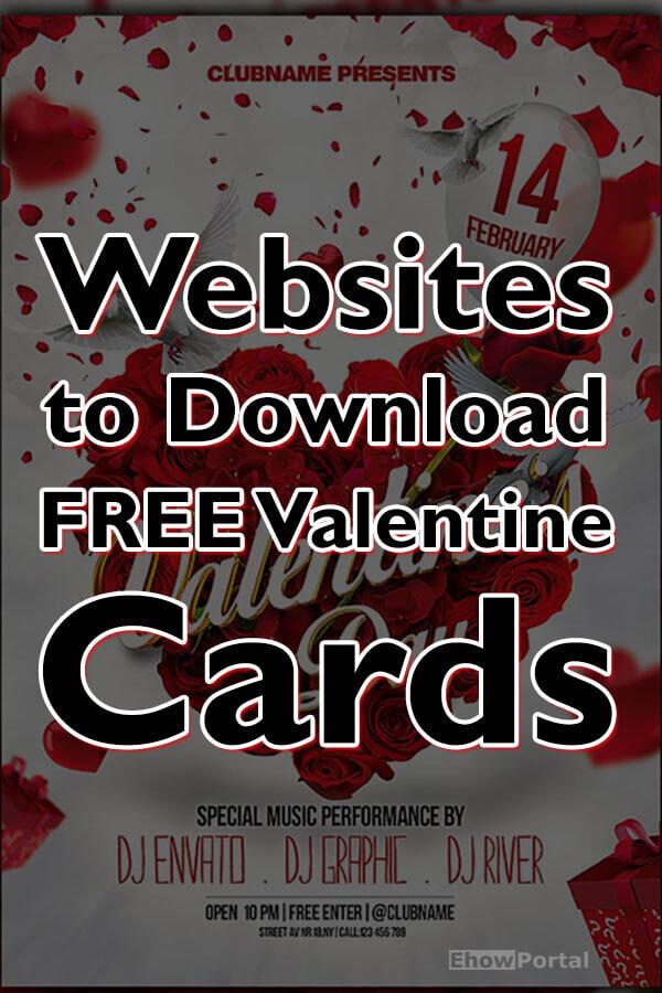 Best Websites to Download Valentine Cards Free 2