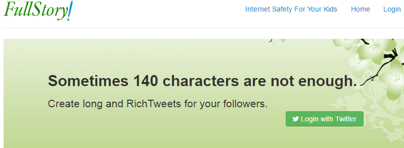 Create long and RichTweets