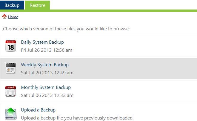 Site Backup Pro Backup