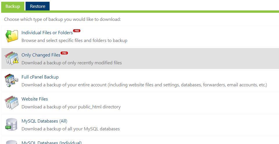 Site Backup Pro