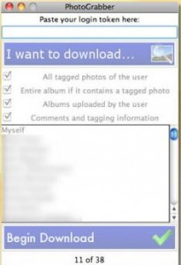 PhotoGrabber Selectively Downloads Photos of You from Facebook