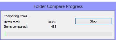 Folder Compare Progress - Ehowportal