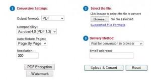 Online Document Converter Tool