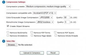 Compress PDF Files Online