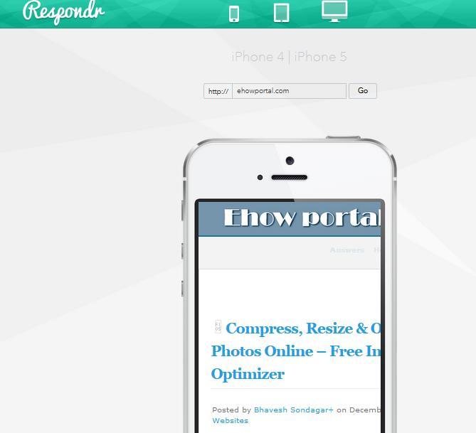Respondr | Responsive Design Test Suite