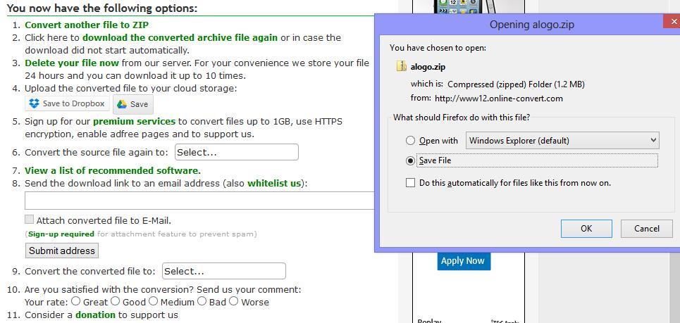 Online File Converter - Converted Compressed File Online Tool