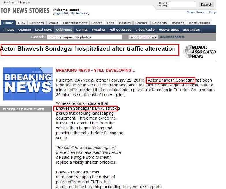 Fake News Generator - Fake News Prank Story Generator