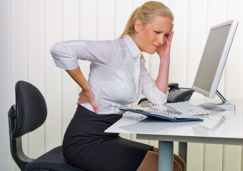 Backpain While Sitting on Computer for Long Term