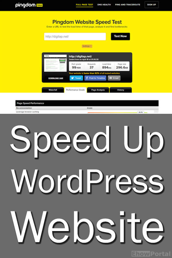 Speed Up WordPress Website copy