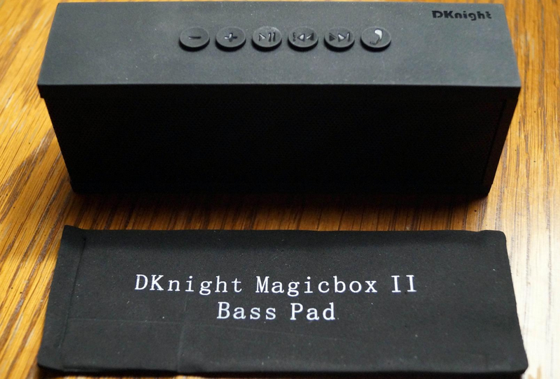 DKnight MagicBox II speakers