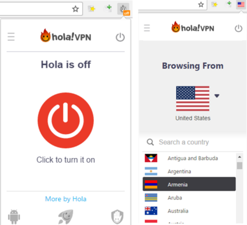 How to Use Hola in Google Chrome