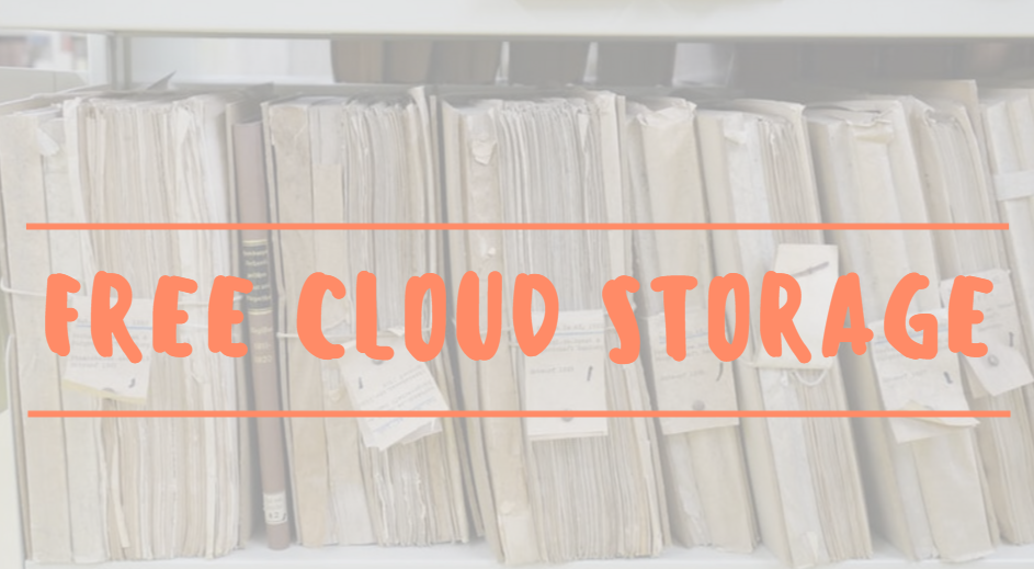 Top 10 Free Cloud Storage 1