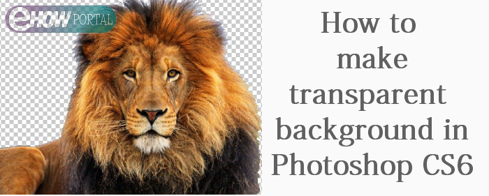 Make background transparent in Photoshop