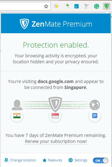 Zenmate Premium - Access blocked sites