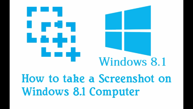 how to take a screenshot on windows 8 1 in two steps