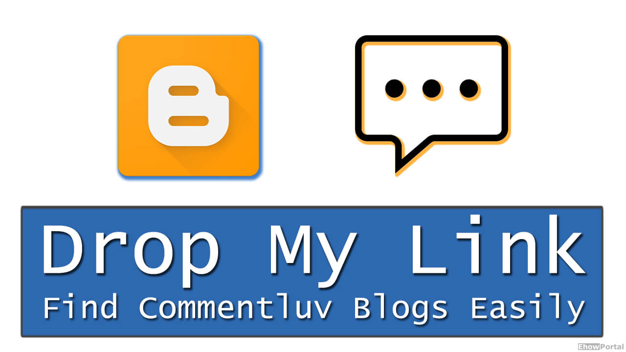 Drop My Link - Find Commentluv Blogs Easily