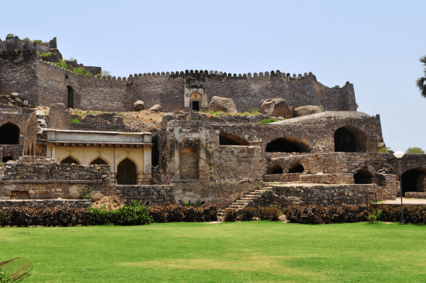 Golconda Fort, Hyderabad (India)