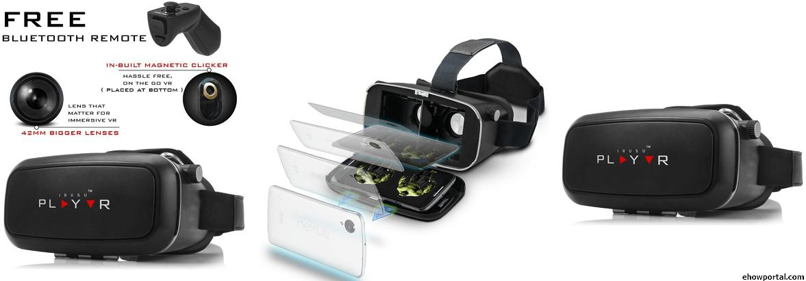End of Joysticks ? New Virtual reality headset lets