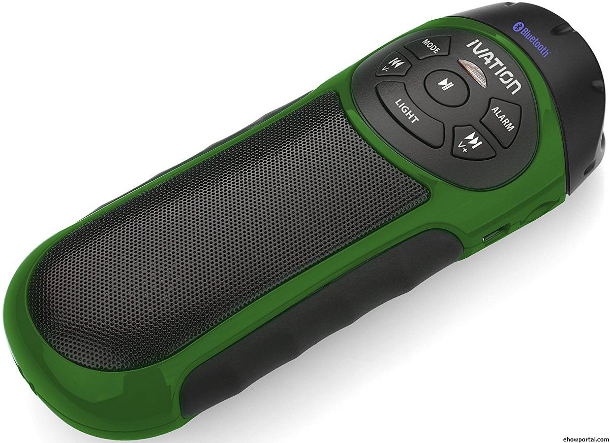Ivation Bike Beakon Portable Bluetooth Speakers