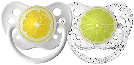 Ulubulu Expression Pacifier Set for babies