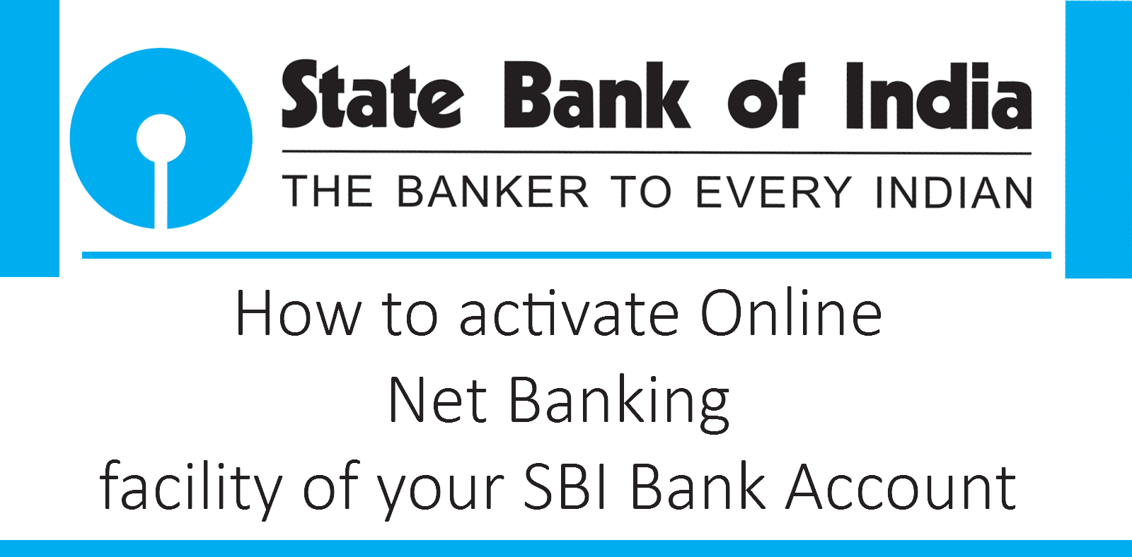 How to activate Online Net Banking