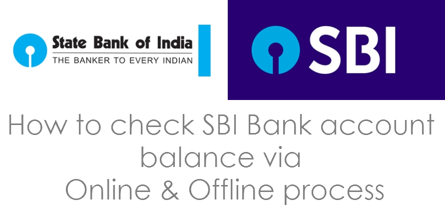 how to check balance in bank of india account online