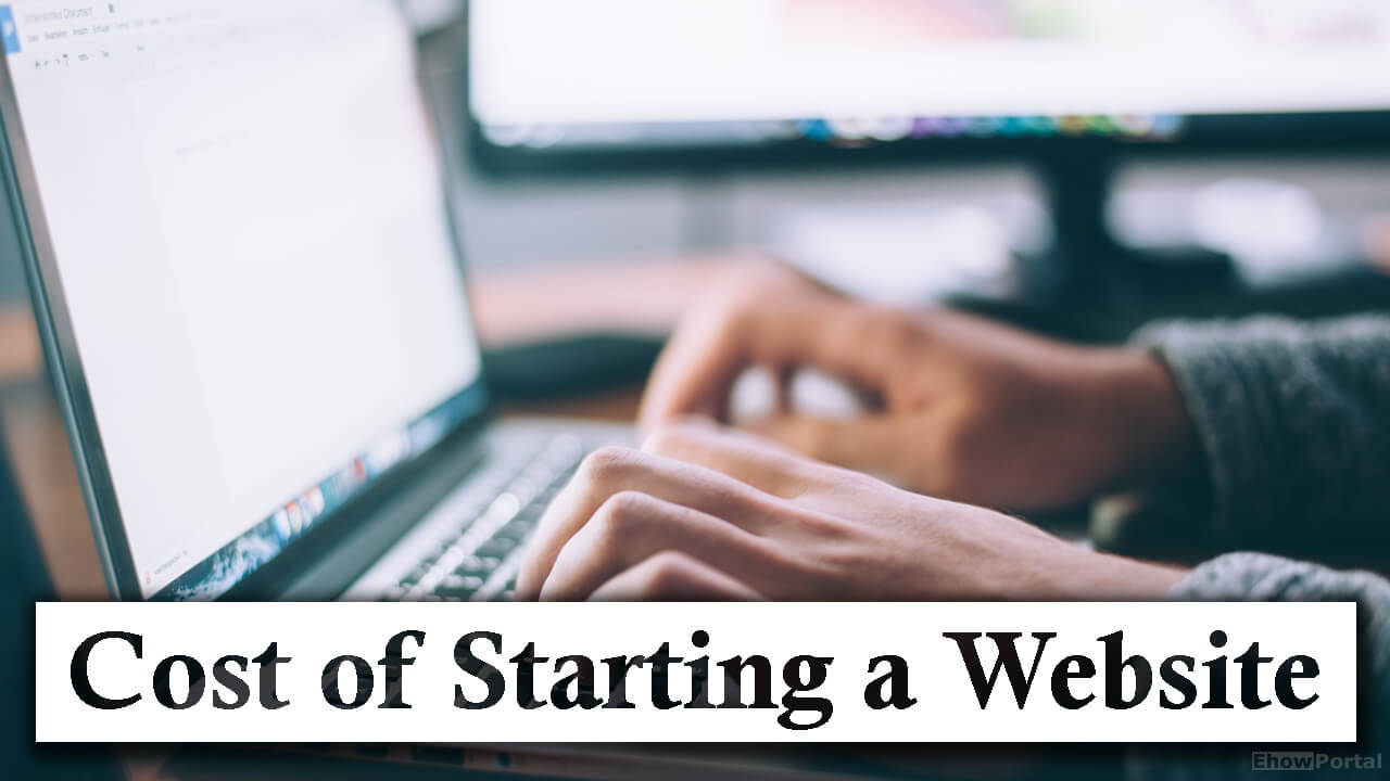 Cost of Starting a Website