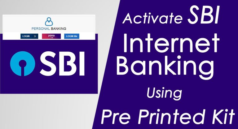 Steps to Get SBI Online Banking Username & Password
