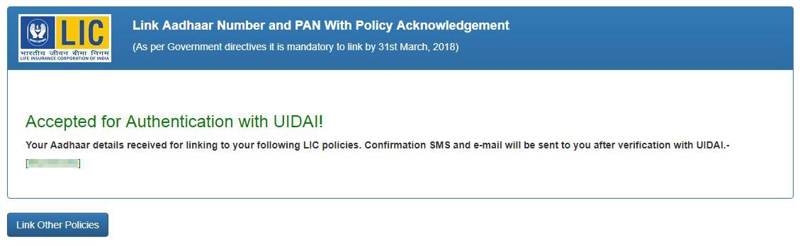 registered UIDAI