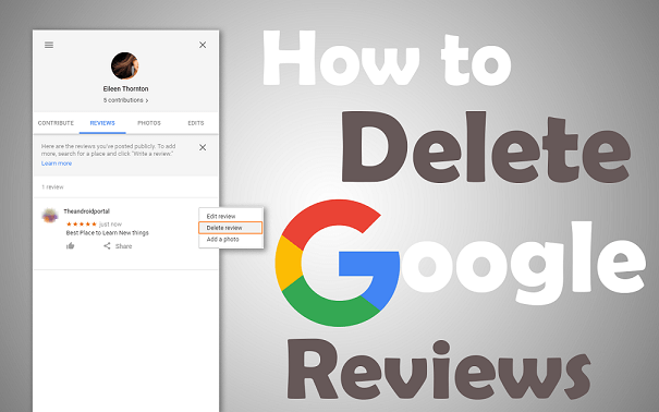 Delete Google Review on Desktop (1)