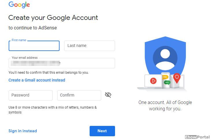 google adsense account login page 2019