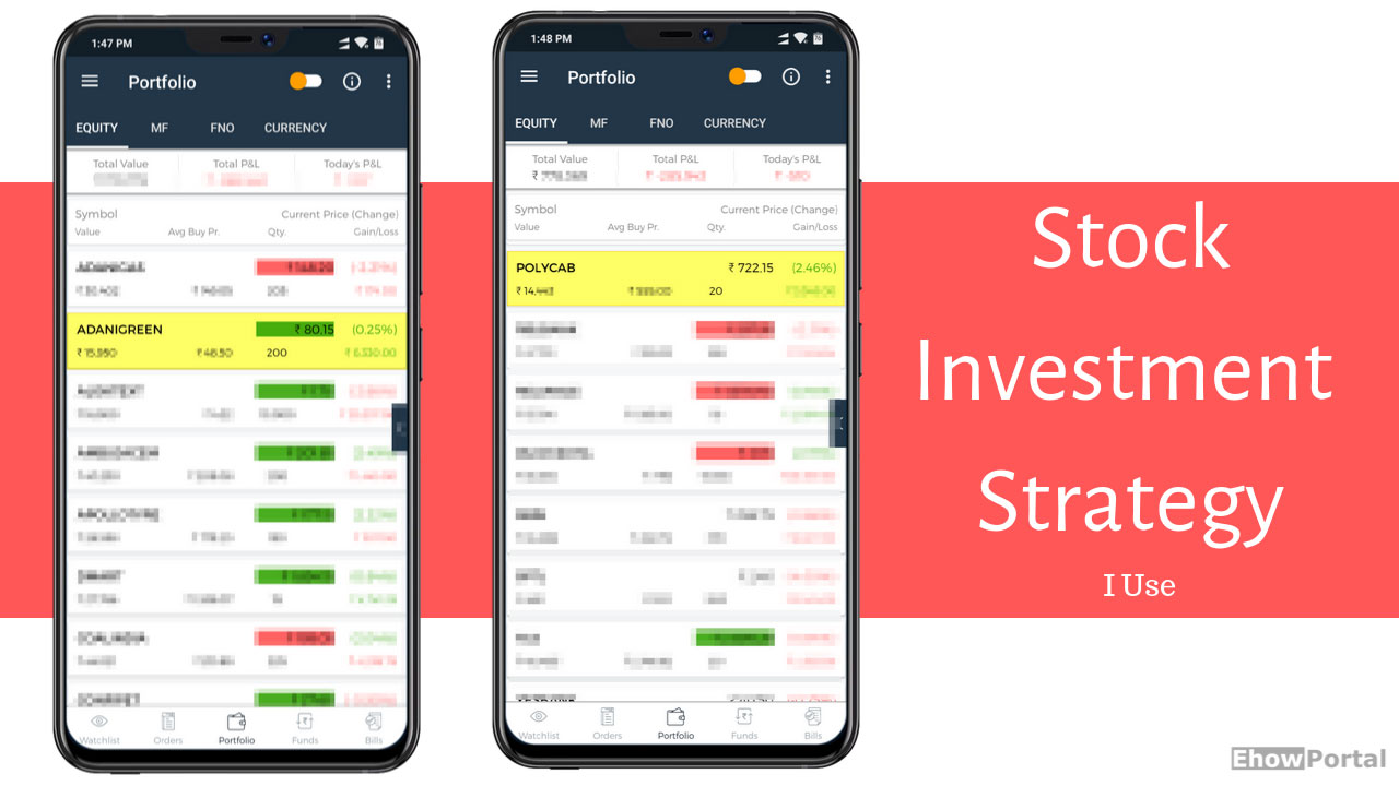 Stock Investment Strategy