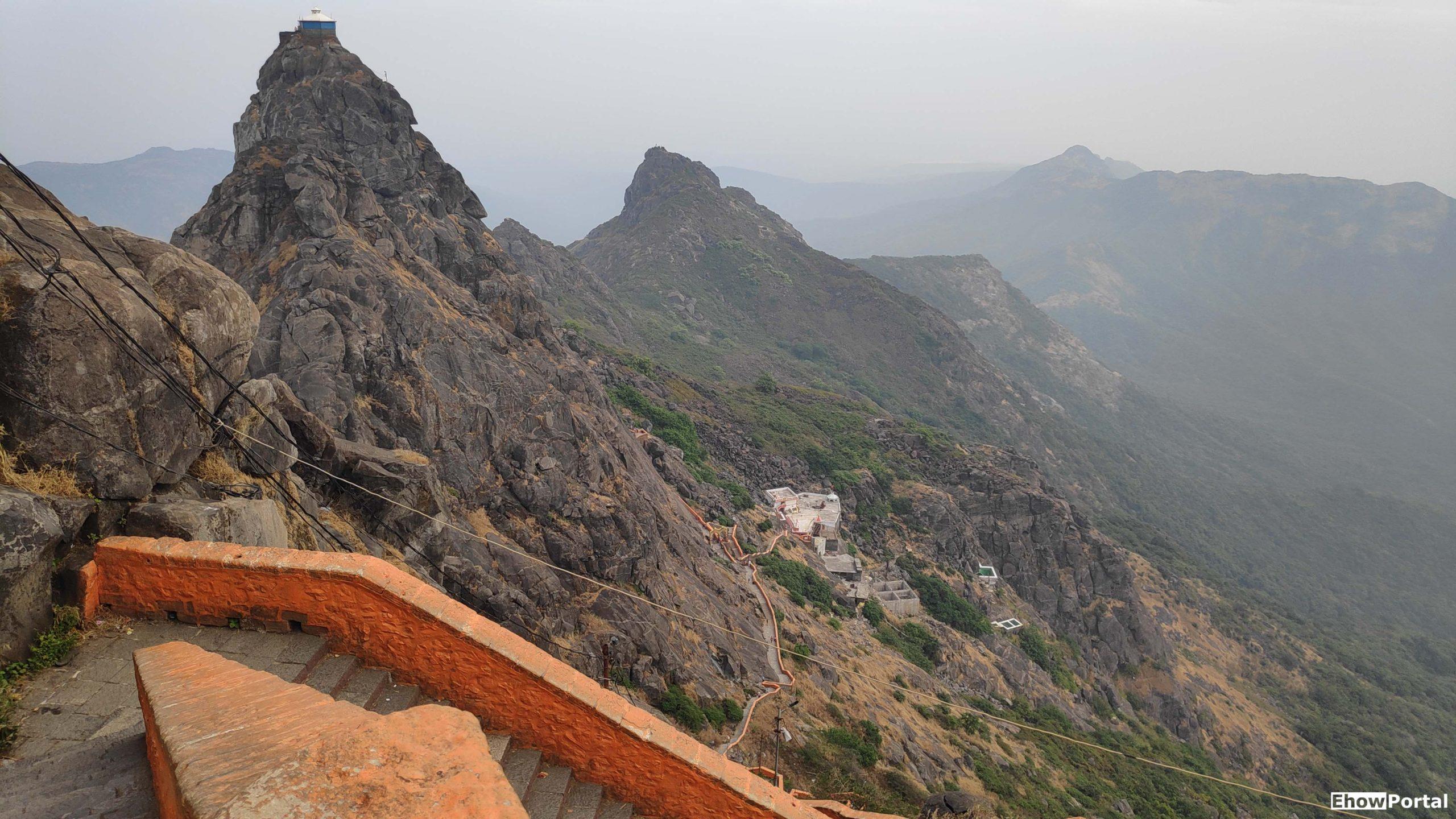 Exercise on Girnar Mountain