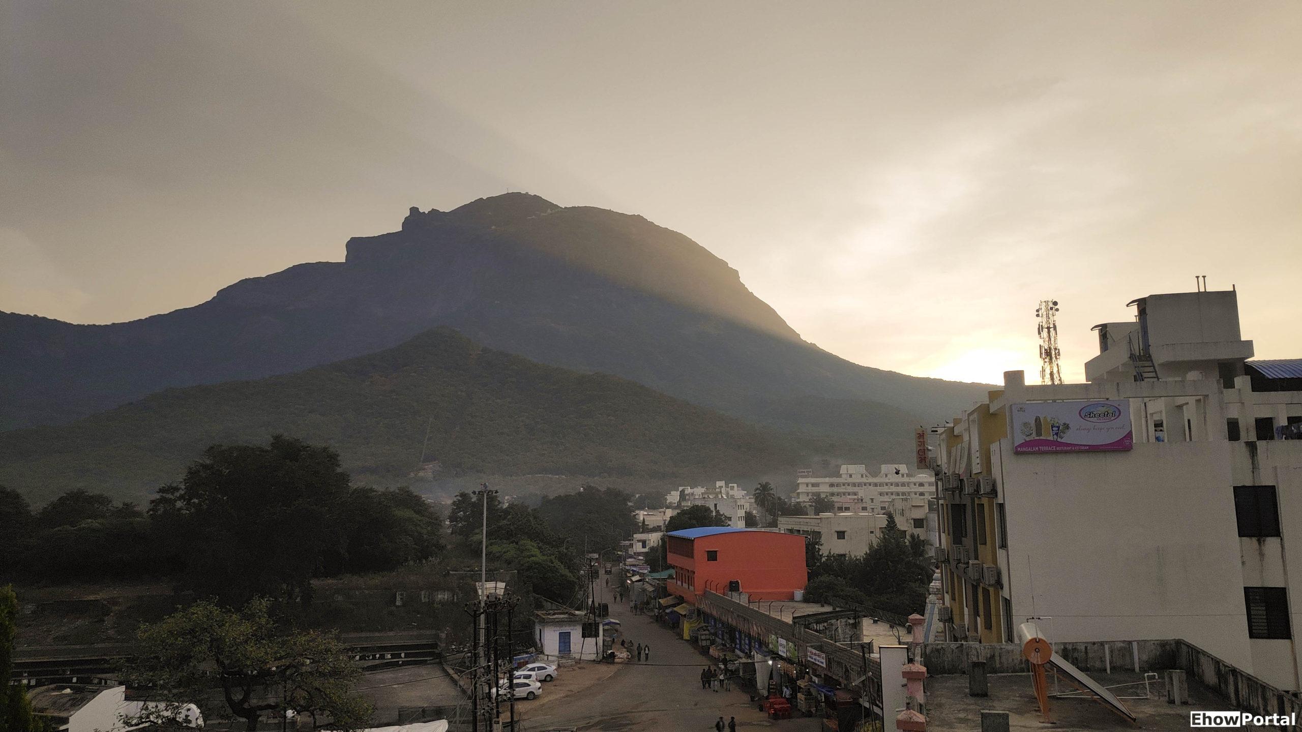 Sunrise View at Girnar Hill